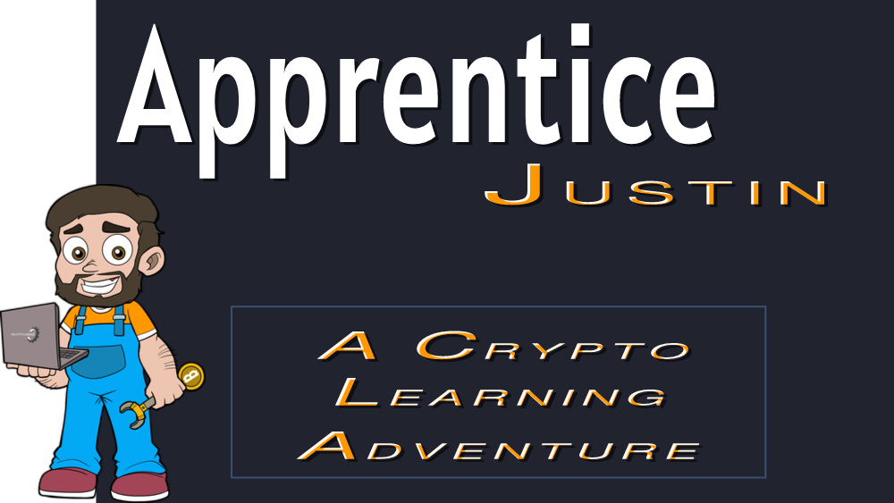 A Crypto Learning Adventure